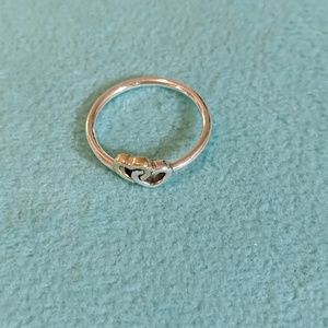 Pandora Interlocking Hearts Ring